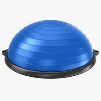 3D realistic bosu ball