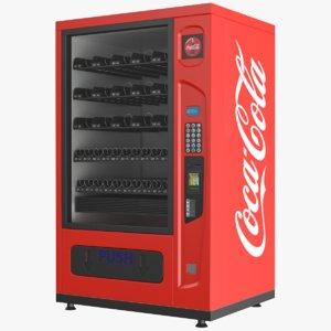 cola vending machine 3D model