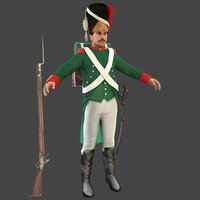 grenadier soldier model
