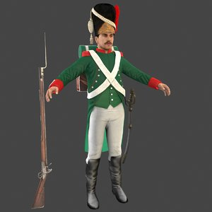 grenadier soldier model