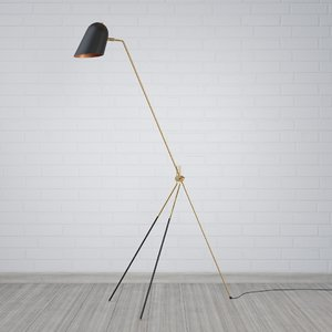 photorealistic floor lamp - model