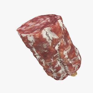 half salami 3D model