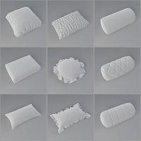 3D pillow pack model