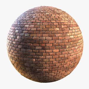Brick Red 02 Seamless