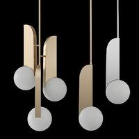 lampatron neo gold chrome 3D