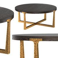 t-brace coffee table 3D