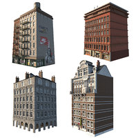 1 pack buildings 3D
