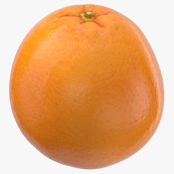 3D orange 04
