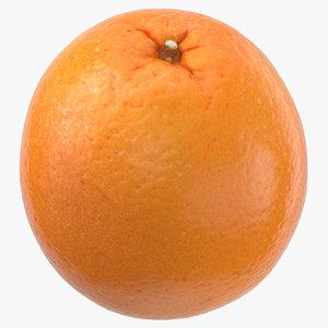 3D orange 05