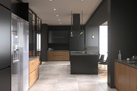 Modern Loft Interior Scene