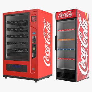 coca appliances 3D model