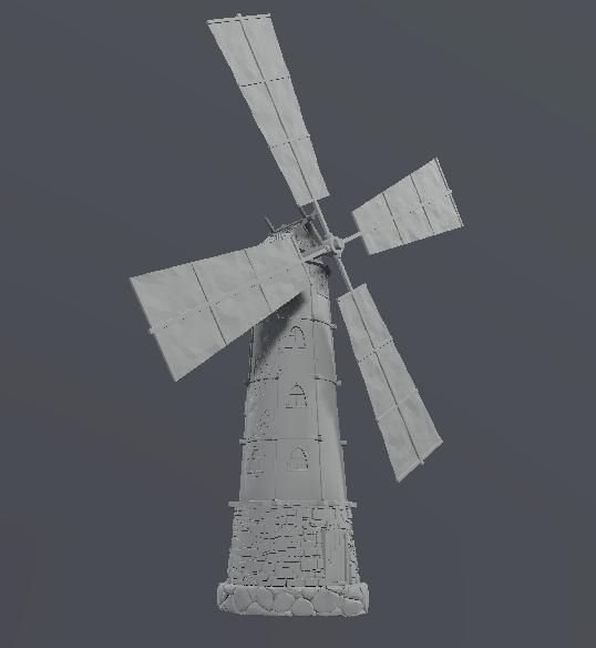 mill field 3D model