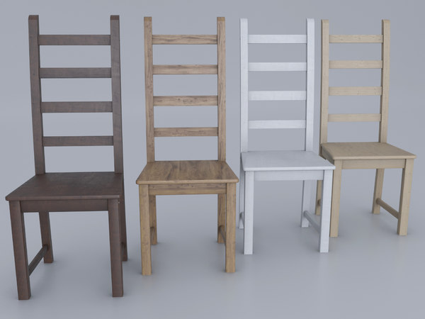 classic ikea chair 3D model