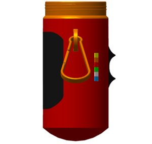 3D concept new thermo bottle model