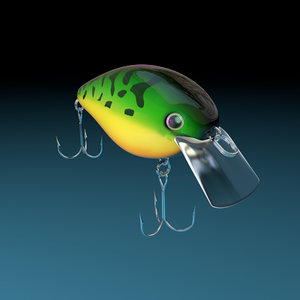 lure bill strike 3D model
