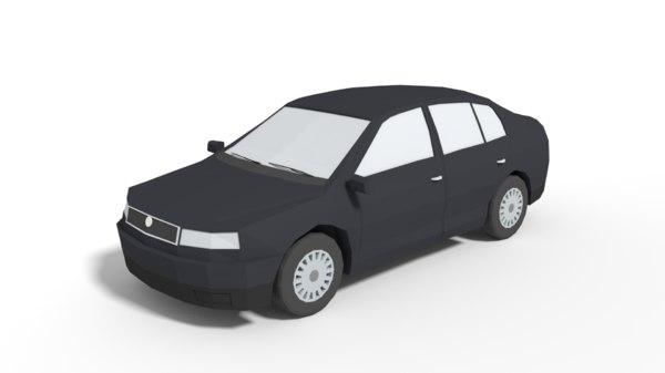 3D family car