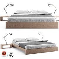3D ki loft bed wooden