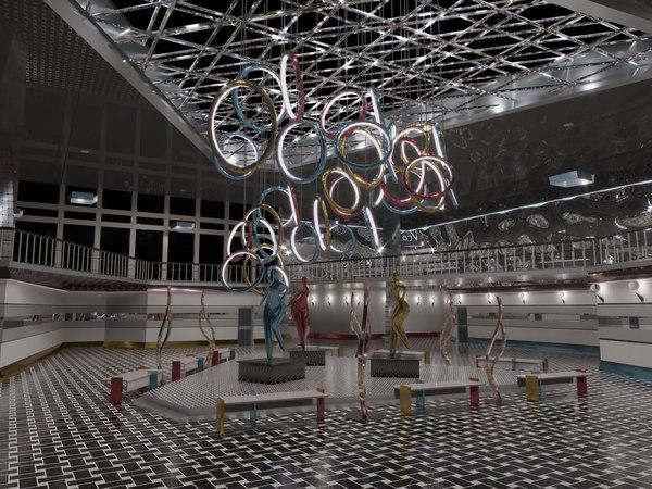 designed museum 3D