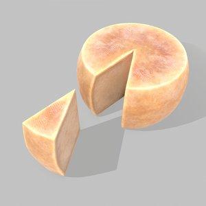 3D parmesan cheese