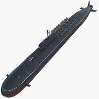 K-535 Yuri Dolgorukiy (Project 955 Borei Class Submarine)
