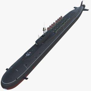max k-535 yuri dolgorukiy submarine