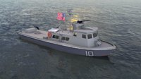 US Navy Swift Patrol Boat