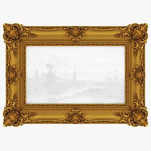 3D frame picture v21 model