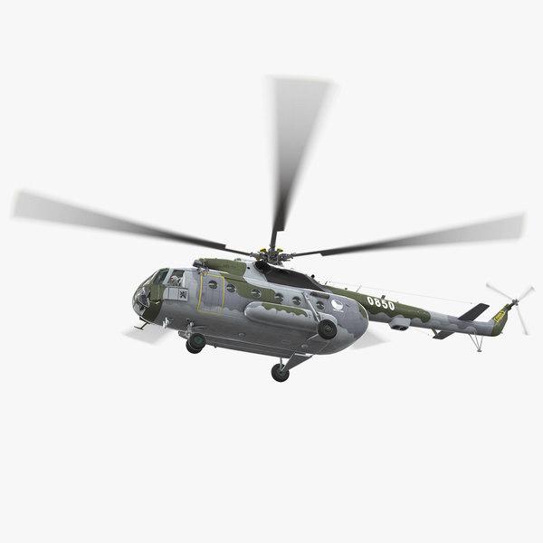3D mi-17 czech air force