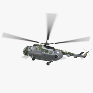 3D mi-17 czech air force
