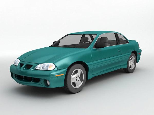 1998 pontiac grand gt 3D model