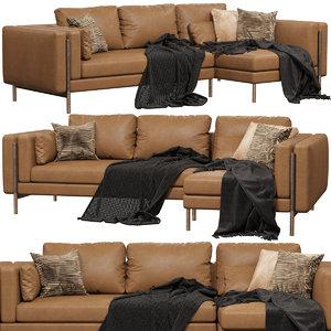 cantori shanghai sofa 3D