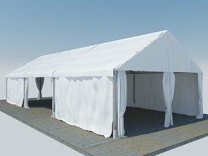 3D tent shelter