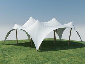 tent shelter model