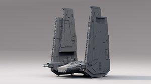 3D star wars s model