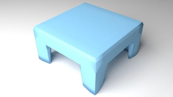 3D stool 3