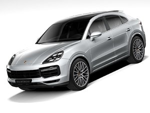 porsche cayenne turbo coupe 3D model