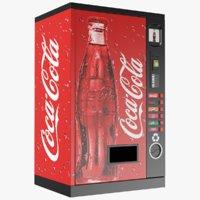 cola vending machine model