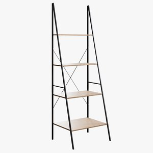 realistic closet maid ladder 3D