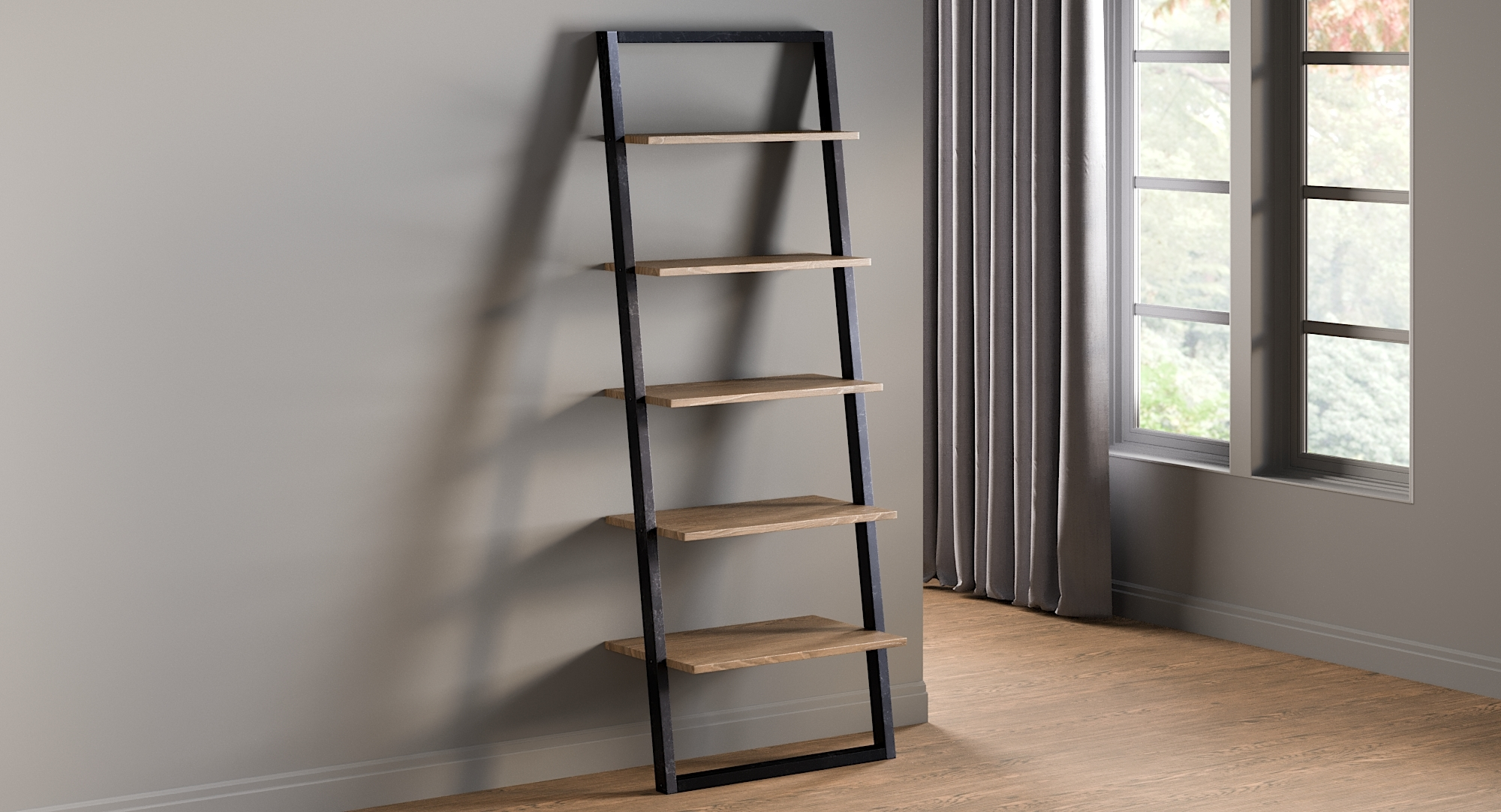 Theophanes Tone Ladder Bookcase