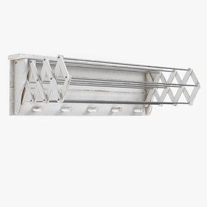drying rack 3D model