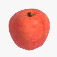 3D model realistic apple