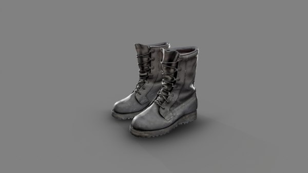 military boots model
