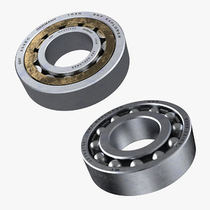 3D bearing cylindrical roller