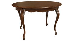 classic wood table model