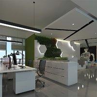lobby - 3D model