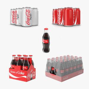 coca cola cans model