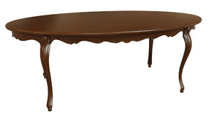 classic wood table 3D