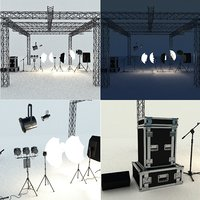 photo lamps floodlights model