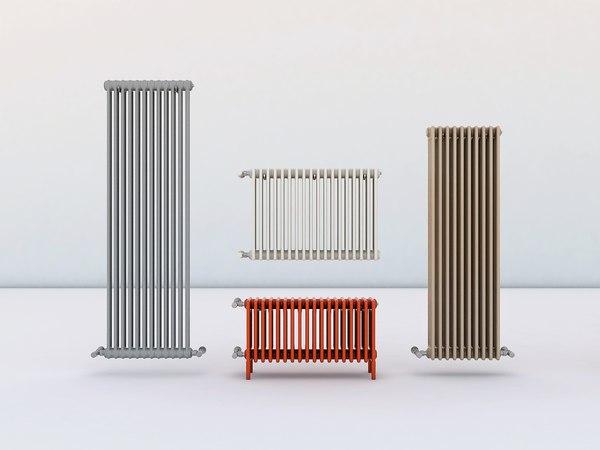 heat exchangers 3D model