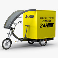 Cargo Delivery Bike